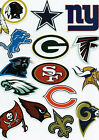 NFL Football Decal Sticker Team Logo Designs Licensed Choose your favorite team! $1.21 USD on eBay