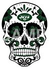 New York Jets Skull sublimation or color iron on transfer $3.25 USD on eBay