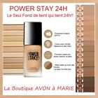 POWER STAY Fond de teint AVON TRUE : 24 Heures ULTRA LONGUE TENUE