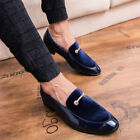 New Mens Business Party Dress Formal Leather Shoes Pointy Toe Slip on Flats Chic