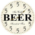 It's Five Somewhere Clock- Beer Wall Clock