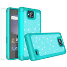 For ZTE Majesty Pro Case, Z799VL Cases Slim Glitter Bling Screen Protector Cover