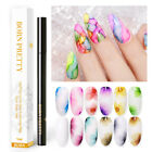 BORN PRETTY Water Color Painting Pen Nail Blossoming Marble Ink Gel Polish DIY