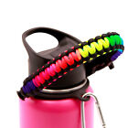 Paracord Handle for Hydro Flask Wide Mouth Water Bottles 12oz - 64oz