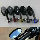 "Aluminum 7/8"" 22mm Handle Bar End Oval Mirrors For Triumph Street Speed Triple $19.9 USD on eBay"