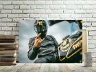 TRIUMPH BIKER MOTORCYCLE CANVAS PICTURE #167 TRIUMPH CANVAS MOTORBIKE PICTURES €22.98 EUR on eBay