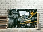 TRIUMPH BIKER MOTORCYCLE CANVAS PICTURE #168 TRIUMPH CANVAS MOTORBIKE PICTURES €22.98 EUR on eBay