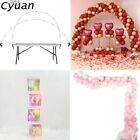 Cyuan Balloon Arch Garlands Kits Plastic Column Stand Balloon Box Latex Ballons
