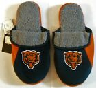 Mens Chicago Bears Hard Sole Sherpa Slippers Sz SM MD LG XL NFL Embroidered Logo $14.95 USD on eBay