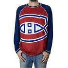 Calhoun Men's NHL Big Logo Long Sleeve Performance Shirt - Montreal Canadiens $20.06 USD on eBay