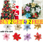 10pcs Christmas Tree Decoration Flower Home Decorations Lovely New Year Decor Th