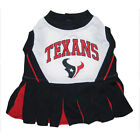 Houston Texans NFL Licensed Pets First Cheerleader Dog Dress Sizes XS-M $22.45 USD on eBay