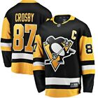 Mens Pittsburgh Penguins Sidney Crosby adidas Black Authentic Player Jersey