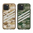 Adidas Genuine Original 3 Strips Camo Raw Green Gold Hard Case iPhone 11 Pro MAX