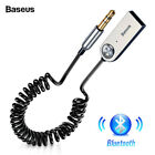 Baseus USB Bluetooth Adapter Dongle Cable For Car 3.5mm Jack Aux Audio Music