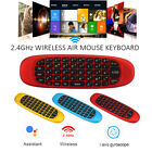 6-Axis Gyro 2.4G Wireless Air Mouse QWERTY Mini Keyboard For Android TV Box PC