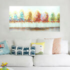 Modern Hand Painted Art Canvas Oil Painting Wall Art Home Decor Framed - Trees