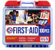 100 Piece First Aid Kit - Emergency Medical Survival Bag Camping Travel Home Car photo