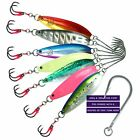 FISHLAB CARNADA SLOW PITCH JIG 300 GRAM GLOW SELECT COLOR BLUEFIN TUNA