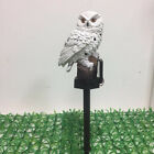 Owl Solar Powered Garden Light LED Outdoor Ornament Lawn Waterproof XMAS Lamp