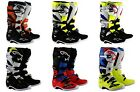 Alpinestars Tech 7 MX Boots Black/White/Yellow SHIPS FREE