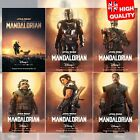 Star Wars The Mandalorian Poster TV Series 2019 Character Poster | A4 A3 A2 A1 | £14.99 GBP on eBay