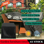 In/outdoor Furniture Cover Uv Waterproof Garden Patio Table Shelter Protector