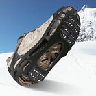 Ice Cleats Snow Crampons Cleats 24 Spirks Anti-slip Walk Traction for Shoes Boot