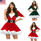Kyпить Women's Santa Claus Xmas Costume Cosplay Waistbelt Christmas Tunic Fancy Dress на еВаy.соm