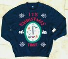 """Men's """"It's Christmas Time"""" Ugly Christmas Sweater"""