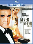 Never Say Never Again (Two-Disc Blu-ray/DVD Combo in Blu-ray Packaging) LIKE NEW $84.62 CAD on eBay