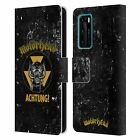 OFFICIAL MOTORHEAD LOGO LEATHER BOOK CASE FOR HUAWEI PHONES