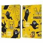 OFFICIAL emoji® HALLOWEEN PATTERNS LEATHER BOOK CASE FOR APPLE iPAD