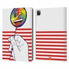 OFFICIAL emoji® PRIDE LEATHER BOOK CASE FOR APPLE iPAD