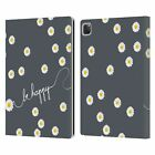 MONIKA STRIGEL HAPPY DAISY LEATHER BOOK WALLET CASE COVER FOR APPLE iPAD