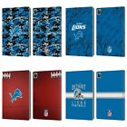 OFFICIAL NFL 2018/19 DETROIT LIONS LEATHER BOOK WALLET CASE FOR APPLE iPAD $15.95 USD on eBay