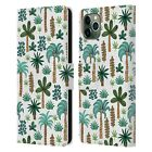 OFFICIAL ANDREA LAUREN DESIGN PLANT PATTERN LEATHER BOOK CASE FOR APPLE iPHONE