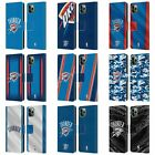 NBA OKLAHOMA CITY THUNDER LEATHER BOOK WALLET CASE FOR APPLE iPHONE PHONES on eBay
