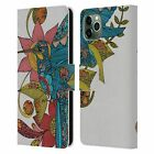 OFFICIAL VALENTINA BIRDS LEATHER BOOK WALLET CASE FOR APPLE iPHONE PHONES