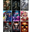 5D Diamond Painting Full Drill Art Skull Embroidery Cross Stitch Kits Home Decor
