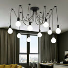 Vintage Retro Ceiling Lights industrial pendant light Chandelier Spider Lamp E27