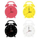 Nordic Alarm Clock Decoration Non Ticking Wall Hanging Silent Acrylic Durable