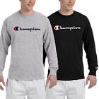 Brand New Classic Champion Men's Long Sleeve T Shirt (S-XL) image