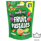 Rowntree's Fruit Pastilles Sweets Sharing Pouch 120g | Choose 5-10 Bags Gift