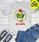 Columbus Blue Jackets NHL Christmas Grinch I Hate People But I Love My Favorite $21.99 USD on eBay
