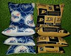 Anaheim Ducks Los Angeles Dodgers Set of 8 Cornhole Bean Bags FREE SHIPPING on Ebay