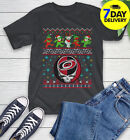 Christmas Ugly NHL Carolina Hurricanes Funny Bear Rock Band Skull Hockey Sport $13.99 USD on eBay