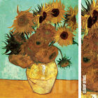 """24W""""x32H"""" TWELVE SUNFLOWERS IN A VASE 1945 by VINCENT VAN GOGH CHOICES of CANVAS"""