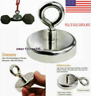 Strong Salvage Magnet Pot Fishing Magnet Deep Sea Magnetic Hook Neodymium Tool