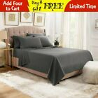 Wholesale Egyptian Comfort 1800 Thread Count 6 Piece Bed Sheet Set Deep Pocket image